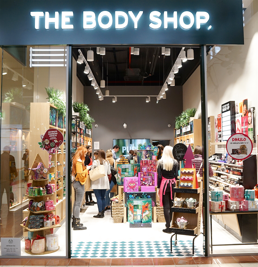 Body Shop | Europark Maribor